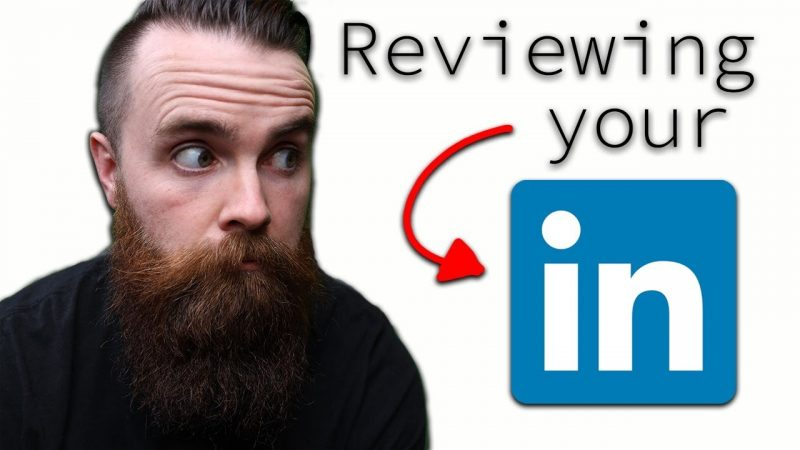 reviewing your LinkedIn profiles (LIVE)