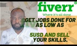 Fiverr; A website where you can do graphics, logos and any tech job for less than 5USD