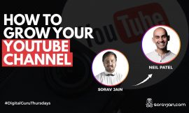 How To Grow Your Youtube Channel | Interview With Neil Patel
