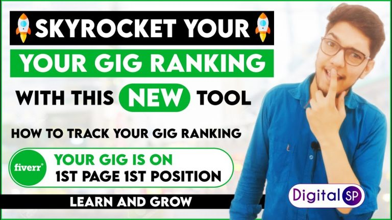 Rank Gigs Faster On Fiverr With This Tool, Track Gig Ranking With Fivlytics, Fiverr Keyword Research