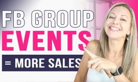Are You Scheduling Facebook Events In Your Group To Make More Sales Yet?