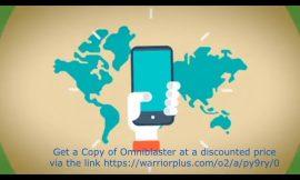 Watch the Power of 3 in 1 Marketing Solution – Omniblaster Honest Review + Bonus