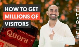 How to Get Millions of Visitors Like Quora