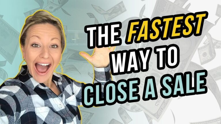 Sales Training 101 – The FASTEST Way To Close A Sale (My Secret Re-Framing Method)