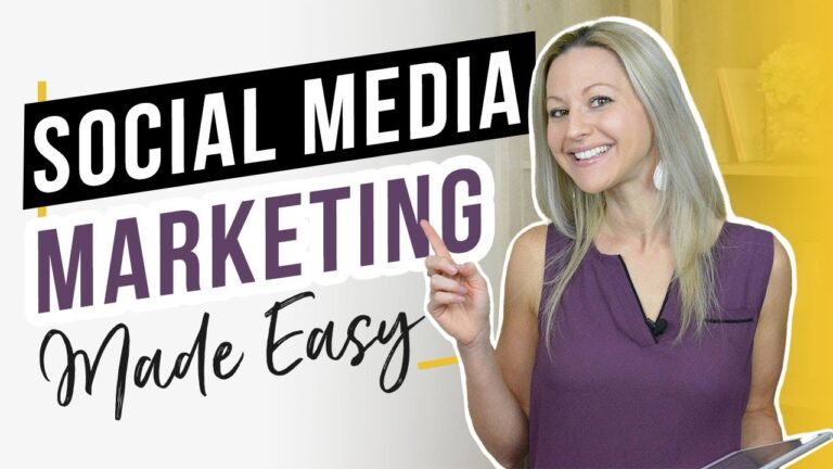 Social Media Marketing For Beginners (Create Content Lightning FAST!)
