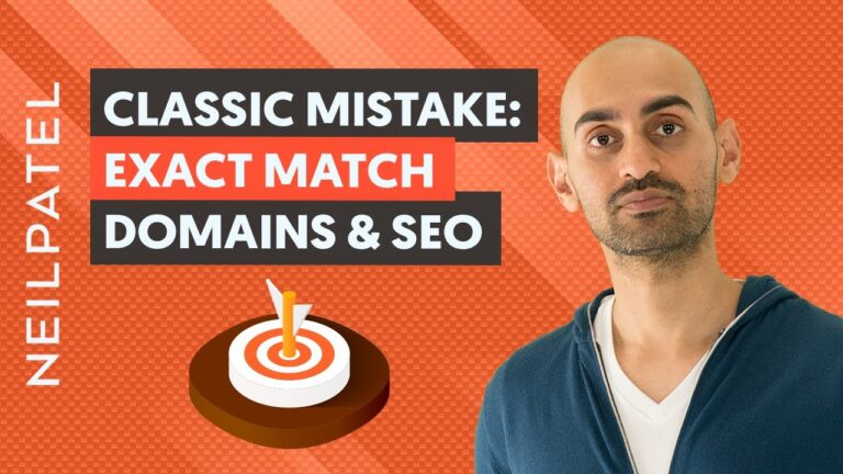 Why You Shouldn't Use Exact Match Domains (Don't Make This SEO Mistake)