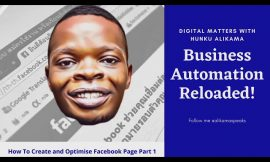 HOW TO CREATE BETTER FACEBOOK PAGE EVEN AS A NOVICE – NEW TUTORIAL
