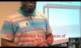 How To Increase Your Chances of Winning TEF Grant – Hunku Alikama