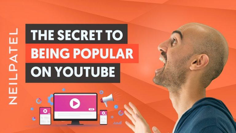 The Secret to Being Popular on YouTube