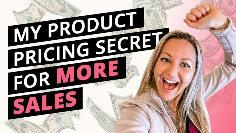 Read more about the article My Product Pricing Strategy That Gets People To Buy FAST