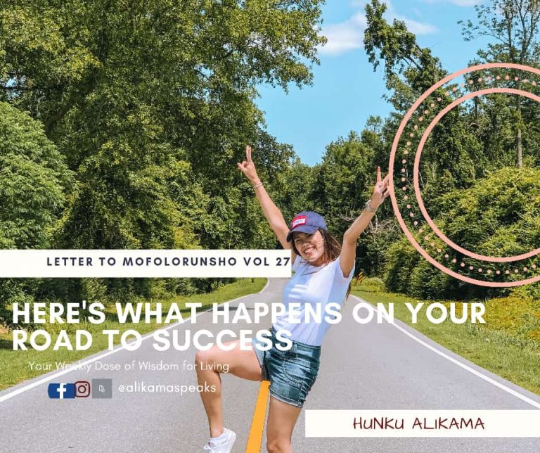 Read more about the article Here are what happens on your road to success