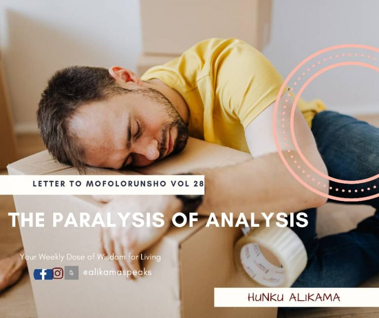 Read more about the article Why you need to WIN against Paralysis of Analysis