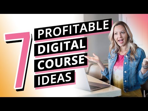 Read more about the article 7 Profitable Online Course Ideas (create a course that leads you to financial freedom)