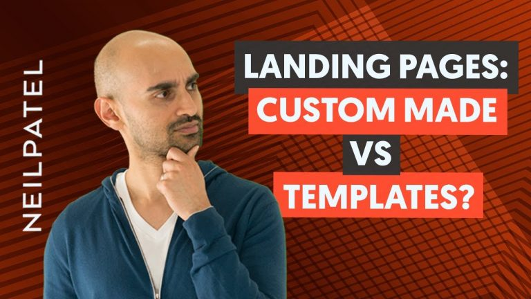 Read more about the article Should You Design Your Landing Pages From Scratch or Use Templates?