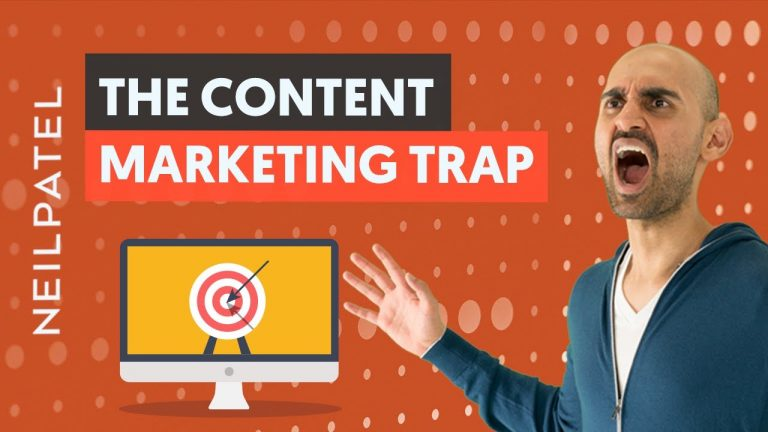 Read more about the article The Content Marketing TRAP: Why Writing Content Can Drive ZERO Traffic