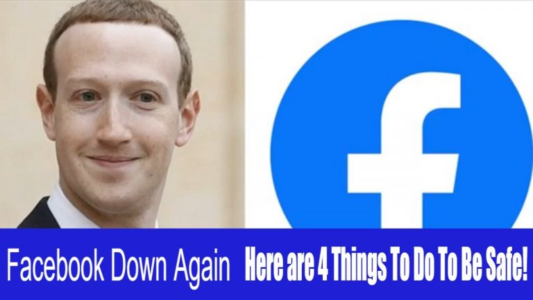 Read more about the article Facebook Down Again – Here are 4 Things to do to be Safe