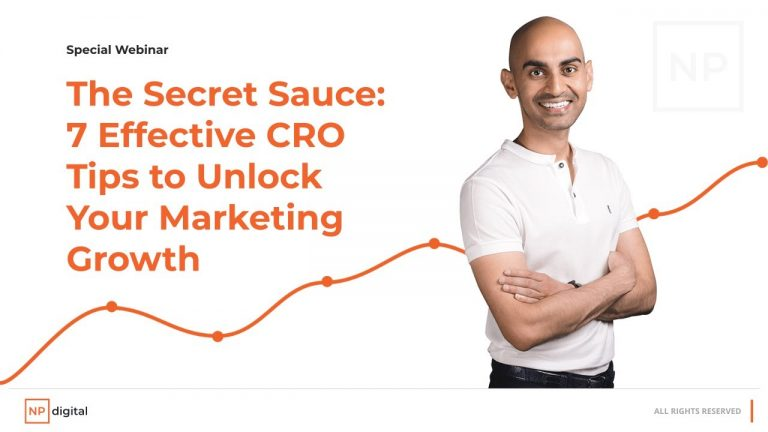 Read more about the article The Secret Sauce: 7 Effective CRO Tips to Unlock Your Marketing Growth Webinar